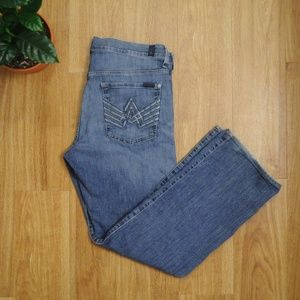 """A"" Pkt Relaxed Fit 7FAM 7 For All Mankind Jeans"